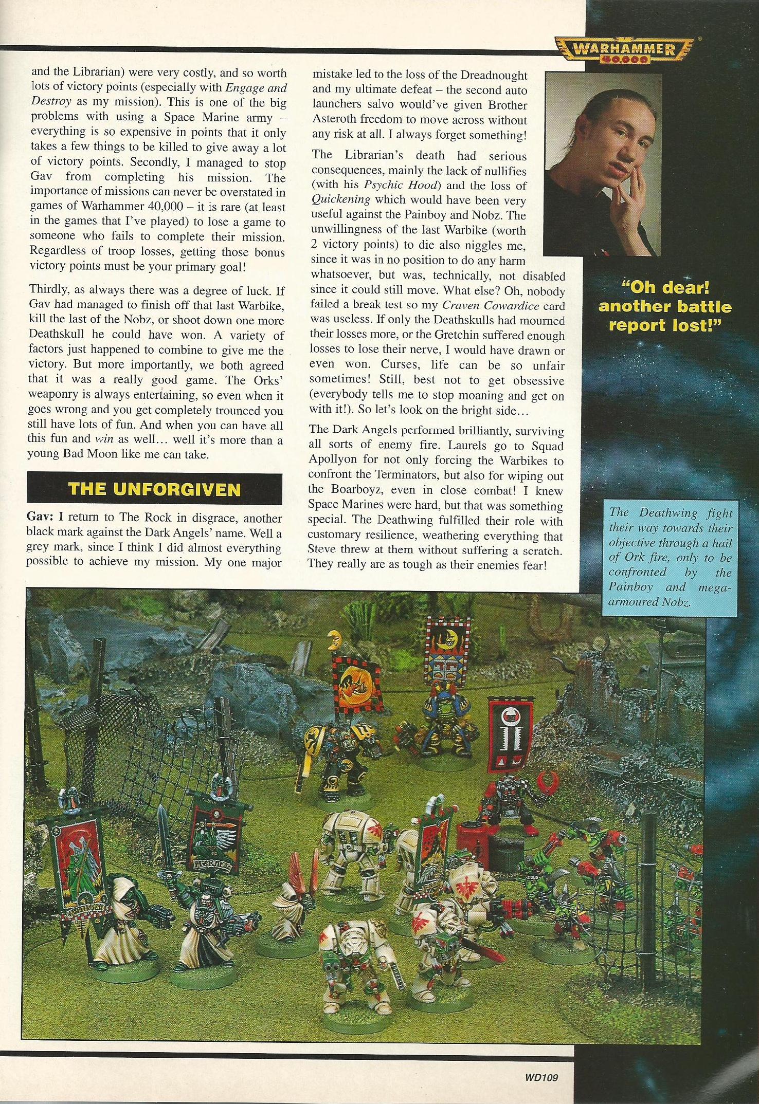 White Dwarf Battle Reports Online (page 4) - Pics about space